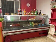 banco frigo con vetrina per negozi alimentari