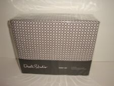 DwellStudio Fez Full Sheet Set Storm Nip Cotton 300Tc