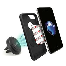 Cell Phone Car Mount Tech Matte Maggrip Air Vent Magnetic Universal Holder Black