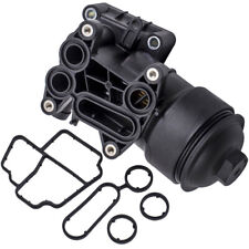 Oil Housing Filter + Gasket Fit For VW GOLF VI CADDY III Audi A1 A3 A4 Allroad