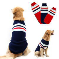 Pet Dog Sweater Knitted Dog Jumper Sweatershirt Winter Coat Large L XL XXL