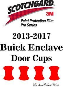 3M Scotchgard Paint Protection Film Pro Series 2014 2015 2016 2017 Buick Enclave