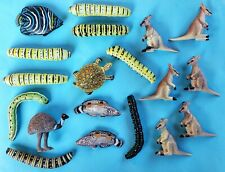 Lot Of 19 Club Earth K&M Play Visions Toy Animal Figures