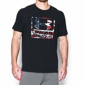 Under Armour BFL Tactical USA Flag Shirt Men's LG NEW