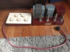 More details for vintage valve tube amplifier