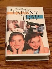 WALT DISNEY PICTURES PRESENTS THE PARENT TRAP VHS  IN CLAM SHELL CASE ~ 1998