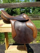 "17"" Crosby AGA Grand Prix English Saddle"