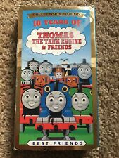 Thomas the Tank Engine & Friends 10 Years Of VHS 1999 George Carlin Blue Tape