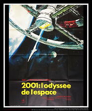 2001 : A SPACE ODYSSEY 4x6 ft Vintage French Grande Movie Poster Release 1968