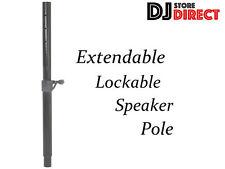 QTX Telescopic Speaker Pole - Extendable Lockable Speaker top support pole