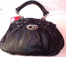 NEW BLACK HANDBAG DESIGNER STYLE BAG EBAY BEST SELLER SALE LAST LOT
