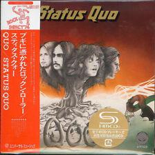 STATUS QUO-QUO +1-JAPAN MINI LP SHM-CD BONUS TRACK G00