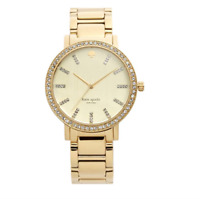 Kate Spade Gramercy Grand Gold Dial Gold-plated Ladies Watch 1724