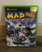 Mad Dash Racing (Original Microsoft Xbox Video Game) Complete in Box
