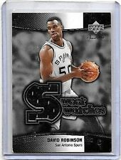 DAVID ROBINSON 2004 UD SWEET SHOT SWEET SWATCHES GAME USED JERSEY