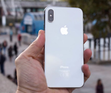 Apple iPhone X - 64GB - Silver (Unlocked) Mint Condition - No Face ID