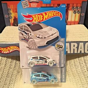 Hot Wheels Ford Fiesta Rally LOT 2016 Arctic Snow Stormers Swisher MCs