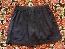 Ativa  Navy Blue Tennis Running Skirt Skort w/Attached Shorts S Small EUC