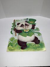 St Patricks Day Diecut Personality Bears Decoration Panda Top Hat Eureka