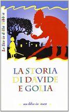 La storia di Davide e Golia - Jacqueline Vallon - Libro nuovo in offerta!