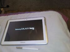 Samsung Galaxy Note GT-N8010 16GB, Wi-Fi, 10.1in  White + Stylus *Charging Issue