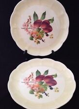 LENOX ORCHARD IN BLOOM PLUM BLOSSOM DINNER PLATES NEW SET of 2