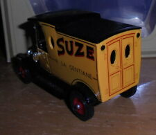 Matchbox Yesteryear Y12 Model T Ford Van Suze Ornate Red Rear Doors Issue 13