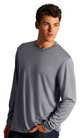 Hanes Men's Cool Performance Moisture Wicking Long Sleeve T-Shirt. 482L