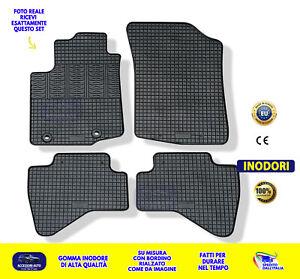 Tappetino Vasca per TOYOTA AYGO 1 posteriore acciaio per Hatchback 5-PORTE 2005-2014 Nero
