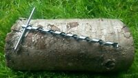 Mini Scotch Eyed T Auger Prepper Bushcraft Survival Trapping ParaRope Poly-Rope