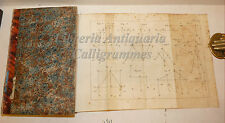 SCIENZA: A. Mozzoni, ELEMENTI DI FISICA GENERALE 1827 Pirotta tavole geometria