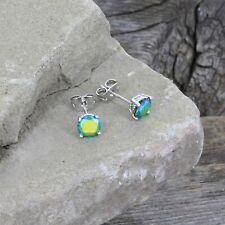 Montana Silversmiths Iridescent Ocean Blue Post Earrings ER3944