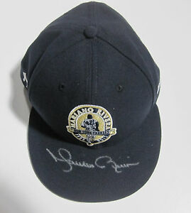 Mariano Rivera signed 2013 Farewell retirement game model Hat Steiner coa auto