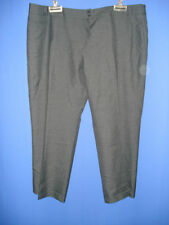 CO-OPERATIVE CHARCOAL GREY LADIES BOOTLEG SUIT TROUSERS SIZE 26 REG BNWOT