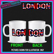 LONDON UNION JACK UK EMBLEM MUG