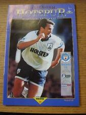 11/04/1995 Tottenham Hotspur v Manchester City [Re-Scheduled Game After Original