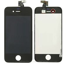 iPhone 4S  Black Front LCD Display Screen + Touch Digitizer Assembly Frame !!