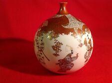 Outstanding RARE Shape Japanese Kutani Bud Vase c1890 Late Meiji Period L@@K!!!
