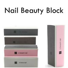 Ontel Nail Buffer Block 4-in-1 Nail Beauty Solution To Keep Fingernails Nice!