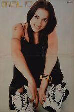 MELANIE CHISHOLM - A3 Poster (ca. 42 x 28 cm) - Mel C Spice Girls Clippings NEU