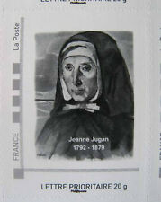 TIMBRE autocollant Jeanne JUGAN Petites Sœurs des Pauvres SAINT-SERVAN  CANCALE