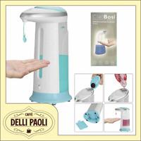 Dispenser Sapone Automatico 400ml Erogatore CiaoBosi Mani Sensore a Infrarossi
