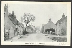 Postcard Stoborough near Wareham Dorset early village view by Bridle