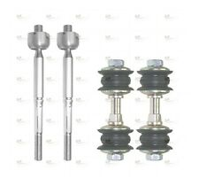 TOYOTA YARIS FRONT STABILISER DROP LINKS AND TIE ROD END SET 2 YEAR WARRANTY
