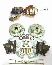 "1969 1970 Chevy Stock Height Standard Disc Brake Kit + 8"" Booster Kit 11"" Rotors"