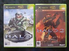 xbox Original HALO: Combat Evolved & Halo 2 2-game bundle