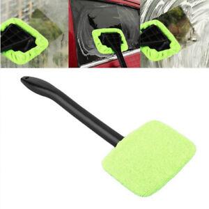 3In1 Windshield Windscreen Wonder Wiper Car Glass Cleaner Microfiber Pad