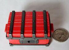 Playmobil 3269 3785 Red Treasure Chest Trunk Sliding Lock Pirate Castle