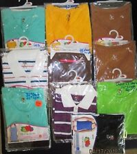MIXED Lot 10 Fruit Of The Loom GIRLS TOPS T Shirts S M L Polos Henley Tanks BOYS