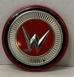 """Vintage Wheaties Auto Badge Car Emblem Willys 1950s Metal 3 1/4"""""""